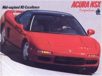 Acura NSX front three-quarters view