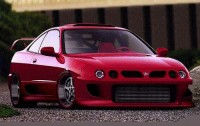 Modified Acura Integra front three-quarters view
