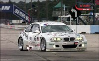 BMW on the track