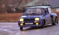 Renault R5 Turbo front three-quarter