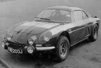 Renault Alpine A110 front three-quarter