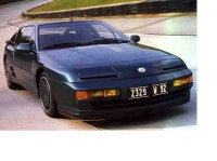 Renault Alpine A610 front three-quarter