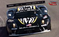 Saleen S7 on the track